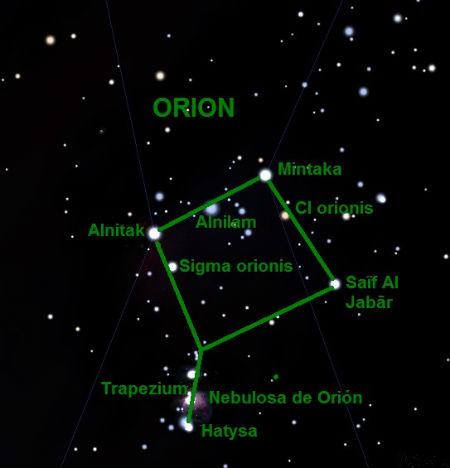 Asterismo de Orión