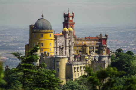 Castillo en Sintra