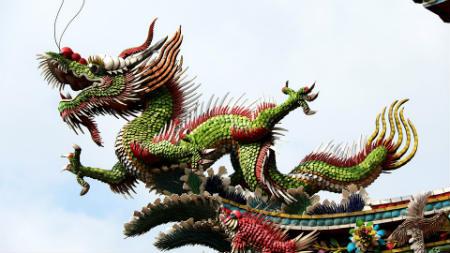 Los dragones en la cultura actual