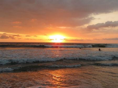 Playa Santa Teresa en Costa Rica