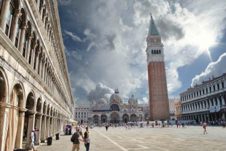 Plaza San Marcos en Venecia