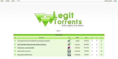 Legit Torrents