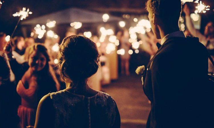 La iluminación para una boda de ensueño