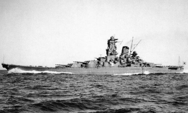 El Yamato, mítico buque insignia de la flota japonesa en la Segunda Guerra Mundial